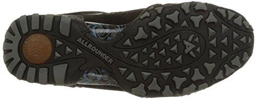 Allrounder by MephistoFINA-Tex Rubber 1/G.Nubuk 84 Black/Black - Scarpe Sportive Outdoor Donna Nero (Black/Black Rubber 1/G.nubuk 84)
