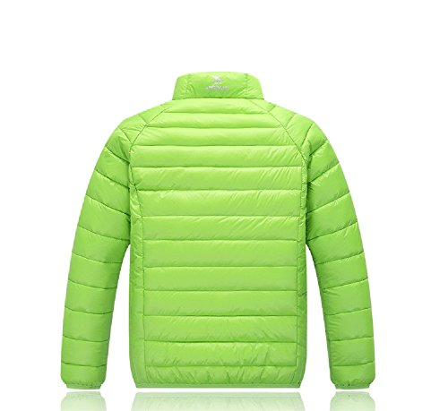 Children Green Jacket Down Pure Green Anoraks Lemonkids;® Coat Lightweight Winter Chic SHzqWdwT