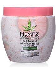 Hempz Pink Pomelo & Himalayan Sea Salt Herbal Body Salt Scrub, 5.47 oz.