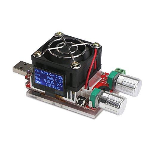 Dc Battery Tester : Drok dc v load battery tester w a portable usb