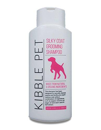 Kibble Pet Silky Coat Grooming Shampoo, Warm Vanilla and Amber (13.5 Ounces)