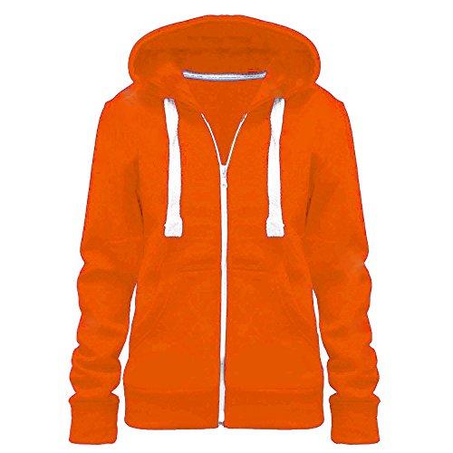 Vanilla ink - Sudadera con capucha - para mujer naranja neón