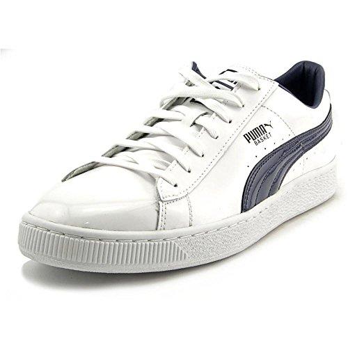 Puma Suede Classic di colore Rosso Basso Top Pompe Scarpe da training sneaker UK 5