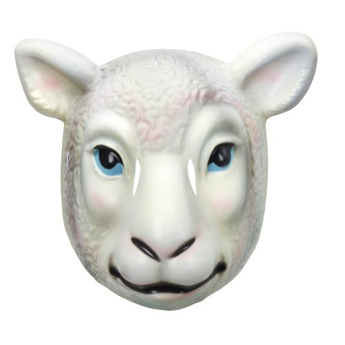 Wyatt Family Sheep Plastic Halloween Party WWE (Sheep Masks)