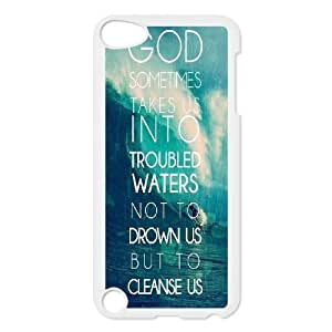 Customized Christian Quotes Ipod Touch 5 Cover Case, Christian Quotes Custom Phone Case for iPod Touch5 at Lzzcase