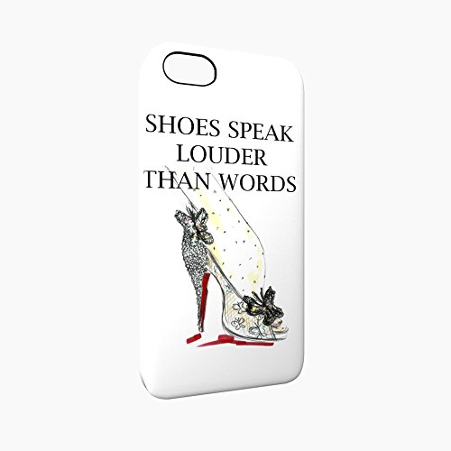 Shoes Speak Louder Than Words Glossy Hard Snap-On Protective iPhone 5 / 5S / SE Case Cover