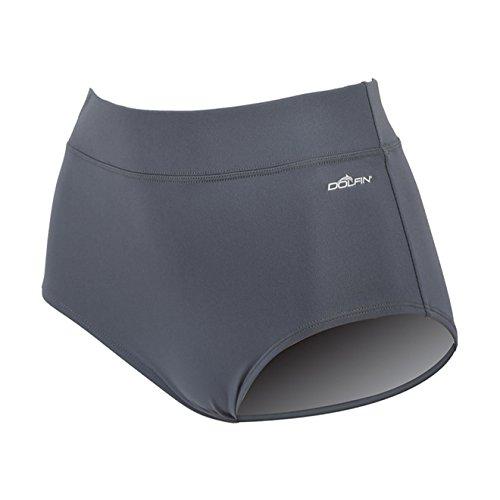 Dolfin Women's Conservative Swim Brief Gray XS