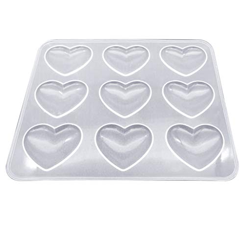 Best silicone heart molds for resin for 2019