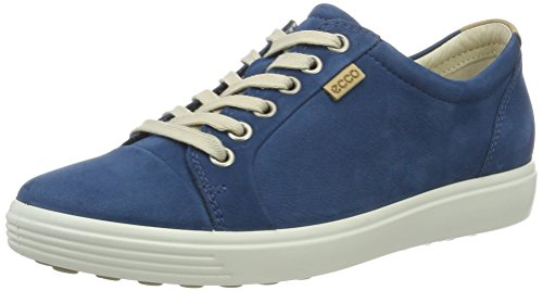 Femme 7 2269poseidon Basses Soft Bleu Sneakers Blau Ecco wIZHF5qWH