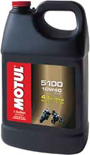 Motul 5100 Synthetic-Blend Motor Oil - 10W40 - Gallon 3081GAA ()