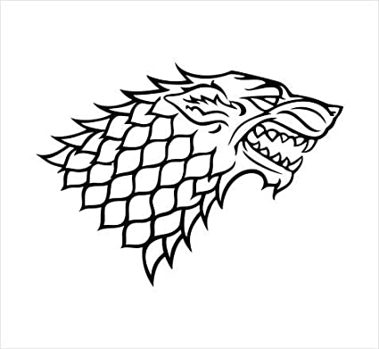 Game Of Thrones: Game Of Thrones Stark Wolf Logo