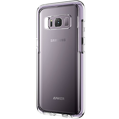 Samsung Galaxy S8 Case, Anker Ice-Case Absorb, Transparent Clear Protective Case for Galaxy S8 with Superior Defense and Shock Protection(Orchid Grey)