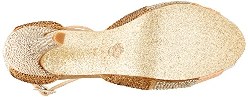 CINTI E4-05 - Tacones Mujer Beige (Champagne)
