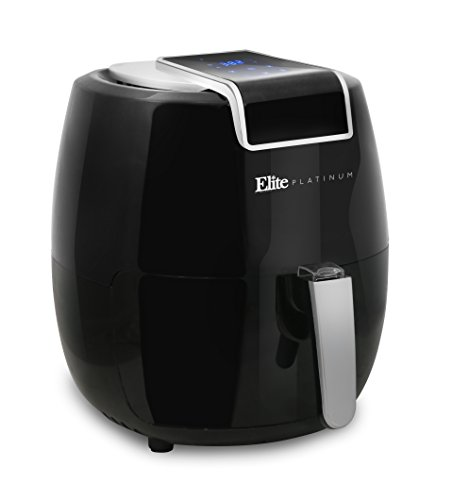 Maxi-Matic EAF-1800H Digital Air Fryer, 5.6 Quart, Black