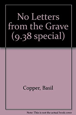 book cover of No Letters from the Grave