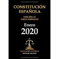 Constitución Española. Edición A4 Gran Formato