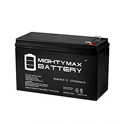 Mighty Max Battery 12V 8Ah SLA Battery Replaces Speedrite S500 Solar Energizer Brand Product