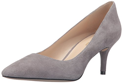 Bomba de Nine West Margot vestido de gamuza Gris humo