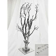 32 Potted Manzanita Tree with Garlands for Wedding DIY Centerpieces by BalsaCircle