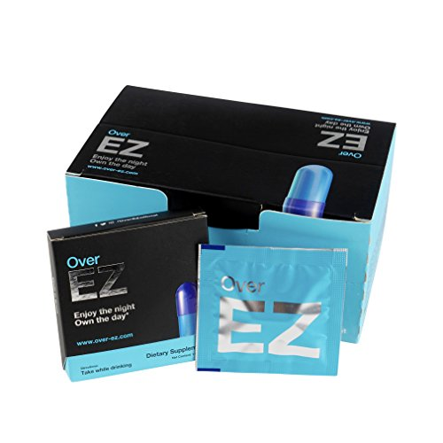 Over EZ Hangover Cure and Hangover Prevention (12 Servings)