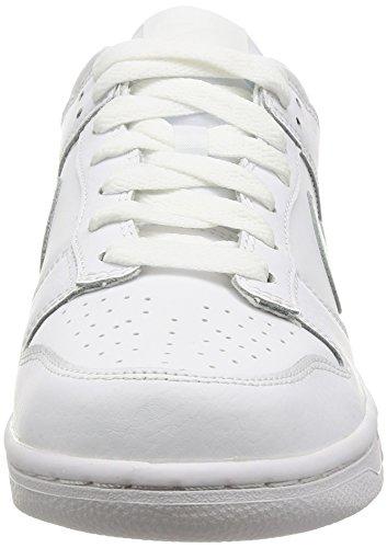 NIKE Herren Dunk Low Pro Skate Schuh Weiß / Weiß-Weiß