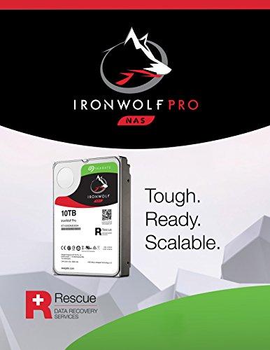 Seagate 10TB IronWolf Pro 7200RPM SATA 6Gb/s 256MB Cache 3.5-Inch NAS Hard Disk Drive (ST10000NE0004) by Seagate (Image #4)