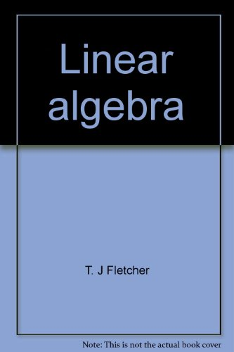 Linear algebra; through its applications