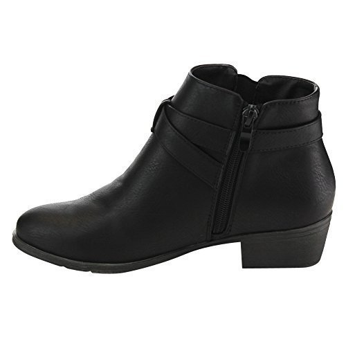 Low Black Boots - 8