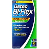 Osteo Bi-Flex Joint Health Herbal Formula With Turmeric Vegetarian Capsules - 80 ct, Pack of 6