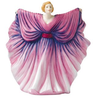 - Royal Doulton 100 Years of HN Figures, Isadora, HN 5655