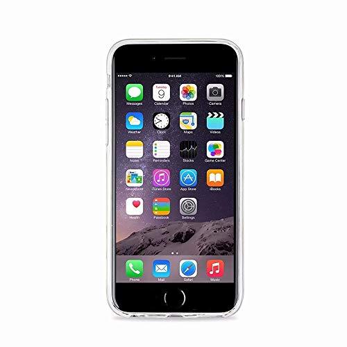 Suave para iPhone 4 iPhone 6 iPhone Silicona Carcasa 6S MingKun 6S Fundas Crystal Pulgada 7 2 Funda TPU Transparente BqrBpwCO