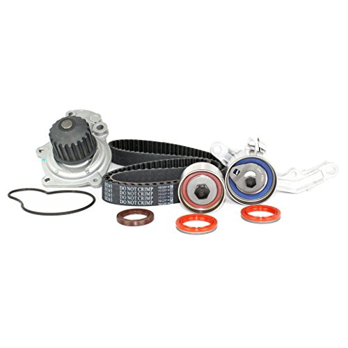 DNJ TBK151CWP Timing Belt Kit with Water Pump 2003-2009 / Chrysler, Dodge / Neon, PT Cruiser / 2.4L / DOHC / L4 / 16V / 148cid (Neon Dohc Dodge)