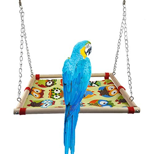 In Quality Parrot Hammock Hanging Cage Cute Swing Toys Play Warm Winter Thick Small Pet Sleeping Bed Superior
