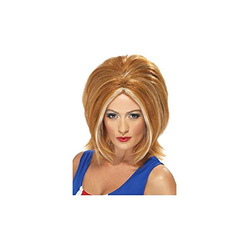 Ginger Power Costumes (Spice Girl Wig Costume Accessory)