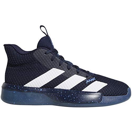 adidas Pro Next 2019 Shoe - Men's Basketball Collegiate Navy/White/Glow Blue