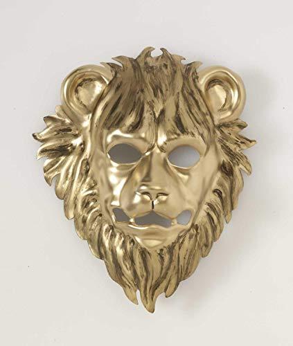 Forum Novelties 73394 Unisex-Adults Mask-Lion with Elastic, Gold, Standard, Multicolor]()