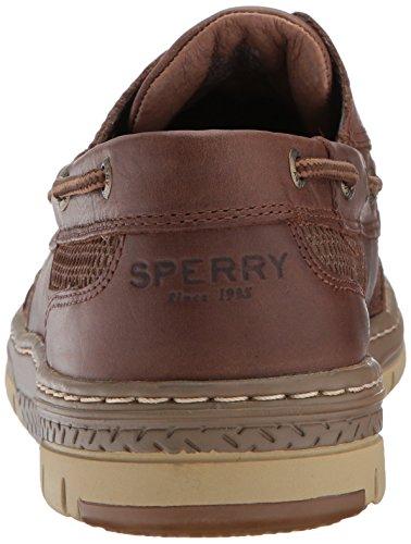 Sperry Mens Tarpon Ultralite Boat Shoe Dark Brown Fa606