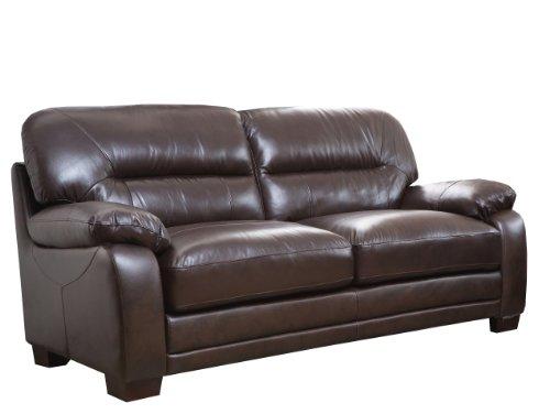 Couch Italian Brown (Abbyson Living Hollywood Italian Sofa)