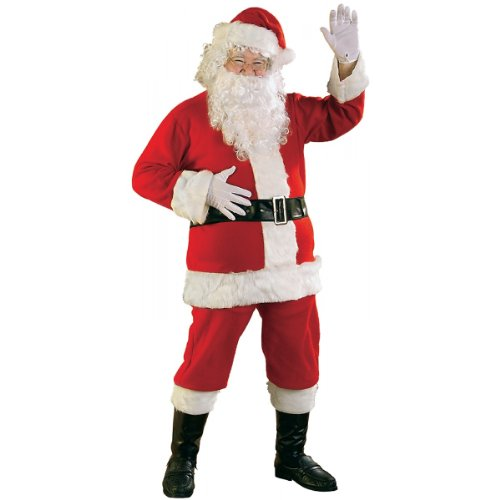 RG Costumes Men's Plus-Size Santa Claus Suit, Red, X-Large - Plus Size Santa Costumes