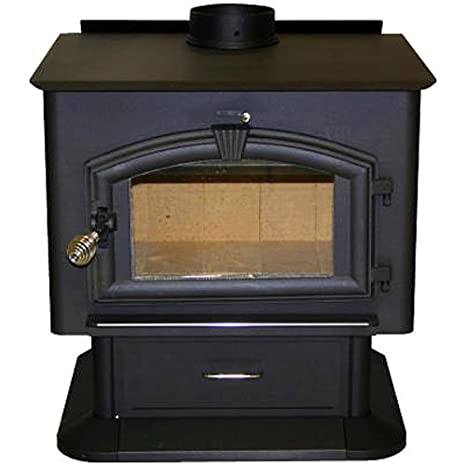Us Stove 2500 Wood Stove With Blower Amazon Co Uk Kitchen