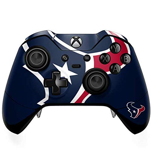 - Skinit Houston Texans Large Logo Xbox One Elite Controller Skin - Officially Licensed NFL Gaming Decal - Ultra Thin, Lightweight Vinyl Decal Protection