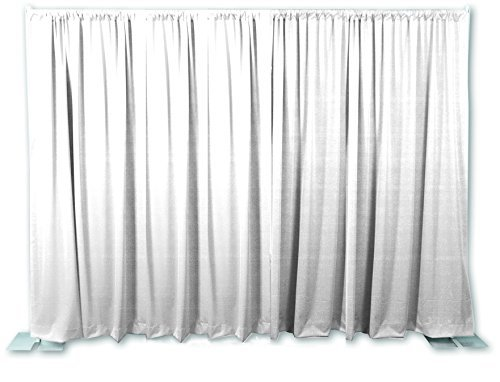 OnlineEEI Premier Portable Backdrop Kit, White