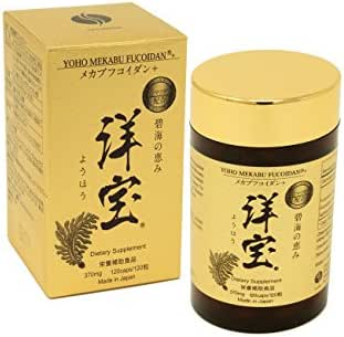 Yoho Mekabu Fucoidan Made in Japan (120 Capsules)