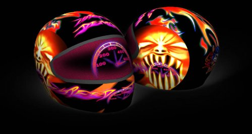 Amazon.com: SkullSkins USA Made Graphic Protective Street Full Face Helmet Covers (110 Styles) - Frontiercycle (Free U.S. Shipping) (DECEPTION): Automotive