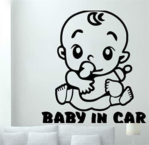 Enfant Sticker Autocollant Sécurité Bébé à Bord Modèle Fille