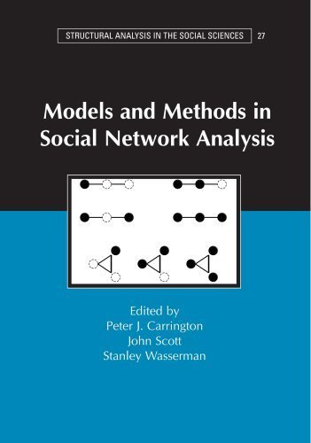 Models and Methods in Social Network Analysis . (Cambridge University Press,2005) [Paperback]