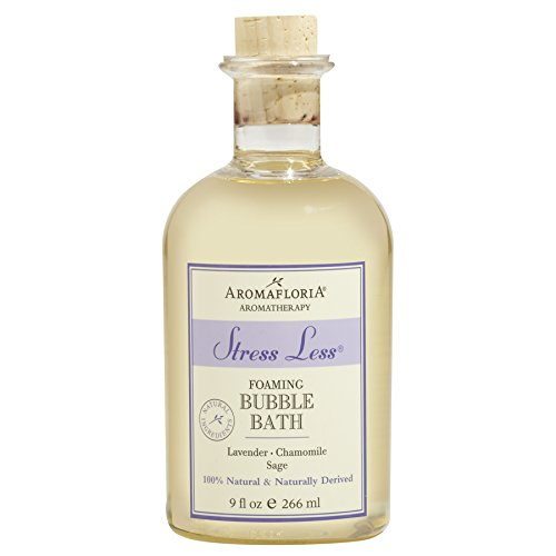 - Aromafloria Stress Less Bubble Bath, 9 fl oz