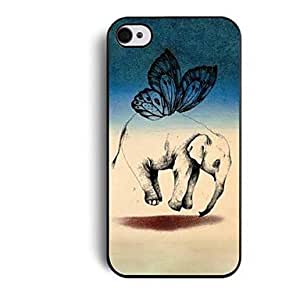 RC - Elonbo J2V The Wings of The Elephant Hard Back Case Cover for iPhone 4/4S