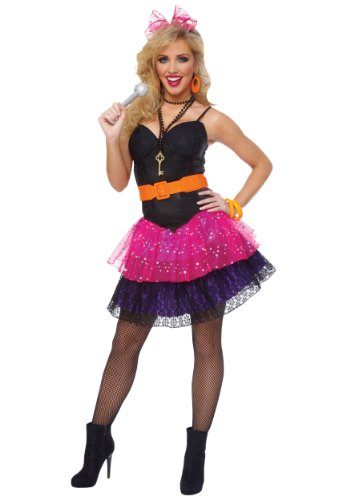 80's Pop Star Adult Costume - Large by Goddessey (Image #1)'