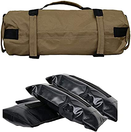Unfilled Canvas Weight Lifting Training Sandbag Fitness Yoga Resistance Sandbag